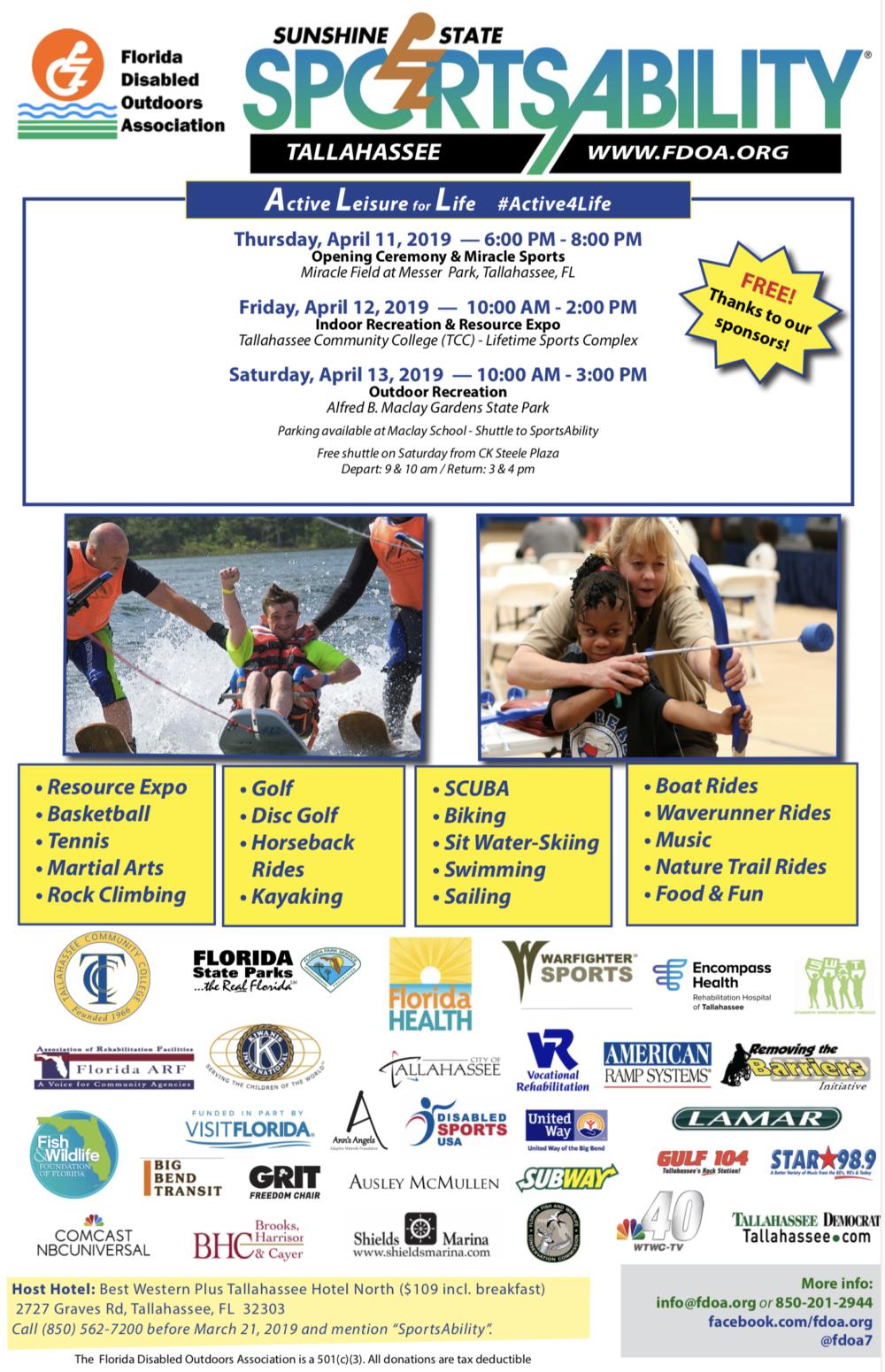 Sportsability Flyer